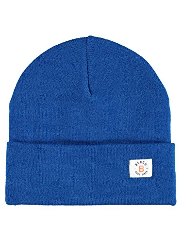 Bench Jungen Turn UP Beanie Mütze, Blau (Dark Blue Bl103), S