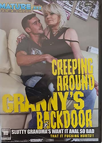 Sex DVD Creeping around granny's backdoor MATURE XXX fu38135
