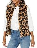 Amazon Essentials Polar Fleece Lined Sherpa outerwear-vests, leopard, US M (EU M - L)