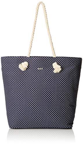 Tamaris Carina Shopping Bag, Sac femme, Bleu (Navy),...