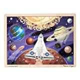 Melissa & Doug 48pc Space Voyage Wooden Jigsaw Puzzle