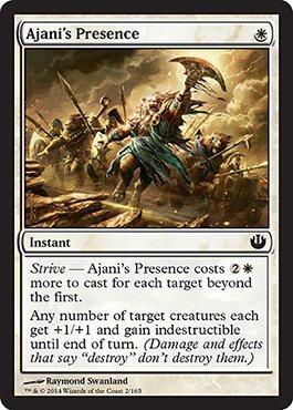 Magic The Gathering - Ajani39;s Presence (2/165) - Journey into Nyx