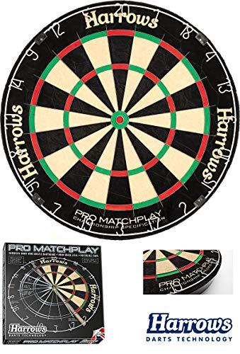 Harrows Dartboard Dart Dartscheibe Pro Matchplay Dart-Board für Steeldarts Darts