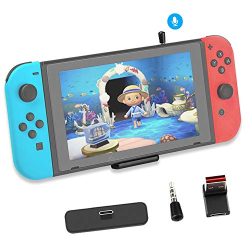 Bluetooth Adapter for Nintendo Switch Accessories USB-C Connector Wireless Audio Transmitter with...