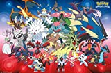 Trends International Pokemon Mega Evolutions Wall Poster 22.375' x 34'