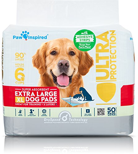 adhesive backed puppy pads
