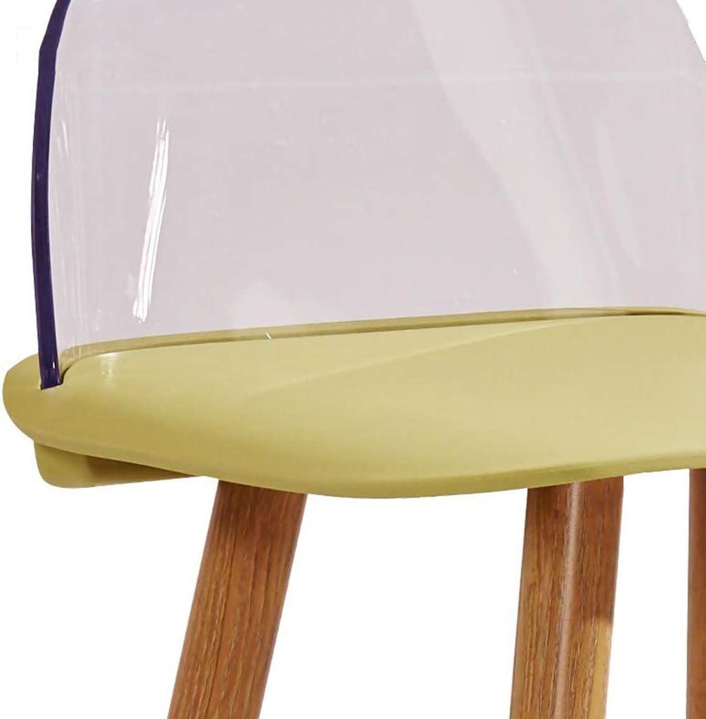 KAI LE Tabouret de Bar/Chaise de Bar/personnalité Minimaliste Moderne Chaise de Bar Tabouret de Bar créatif Home Fashion Bar Chair (Couleur : Blanc) Kaki