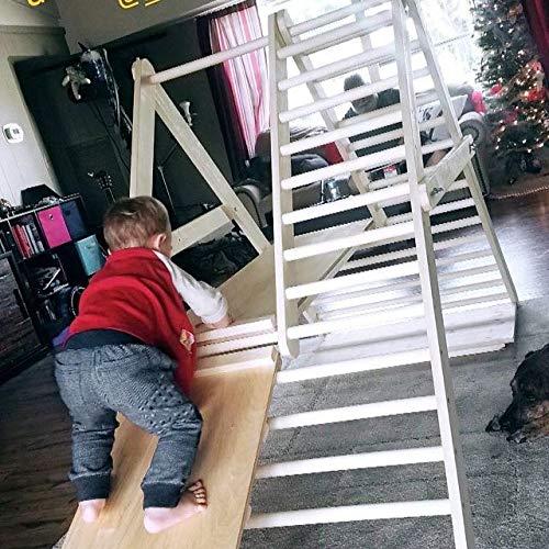 Ugi-Bugi gimnasio para niños pequeños, Triángulo escalonado, Escalera de escalada para niños pequeños, Triángulo de escalada para niños pequeños, Gimnasio para niños pequeños: Amazon.es: Handmade