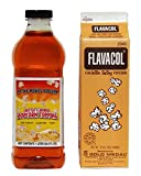 Flavacol Popcorn Seasoning & Buttery Flavor Popcorn Topping Combo