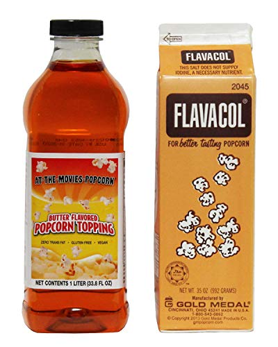 Buy Bargain Flavacol Popcorn Seasoning & Buttery Flavor Popcorn Topping Combo
