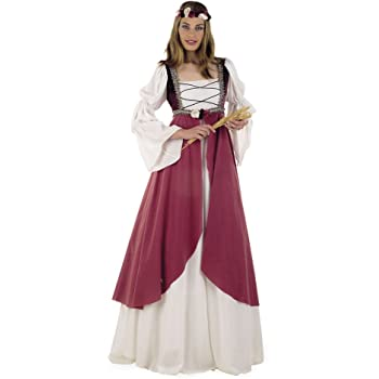 Limit Sport - Disfraz medieval Clarisa, para adultos, talla XXL ...