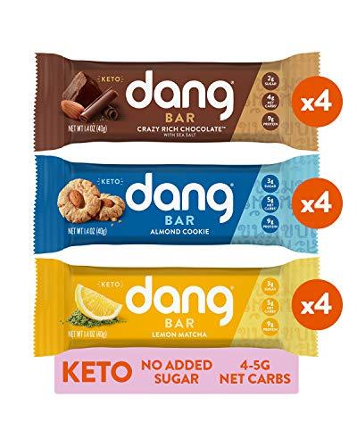 Dang Bar KETO Variety Pack, 12 Count