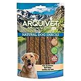 Arquivet Tiras de ternera - Snacks naturales para perro - Golosinas para perro - Chuches para perro - Premios y recompensas para perro - Snacks caninos - 100 g