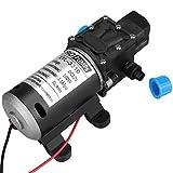 Bomba de agua autocebante, 12V DC 100W 8L / Min 160Psi Diafragma de alta presión. Bomba de agua autocebante para lavadora de automóviles
