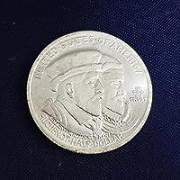 絶妙なコインアンティーク工芸品1924年半ドルUNCコピーコイン記念コイン#1604