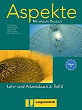 Aspekte 3-parte 2 libro alumno y ejercicios con CD audio: Lehr- Und Arbeitsbuch 3 Teil 2