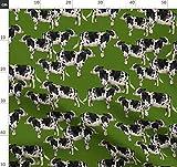 Kuh, Kühe, Bauernhof, Bauernhoftier, Tara Put Stoffe -