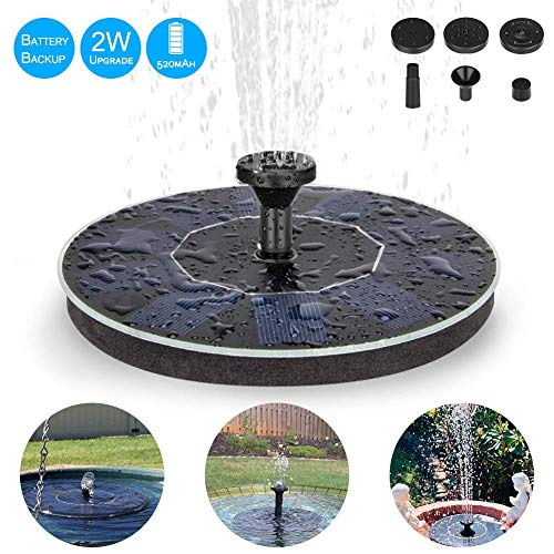 Eletorot Solar Water Fountain, 2...