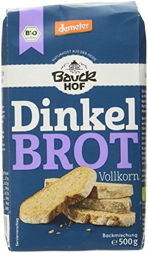 Bauckhof Dinkelbrot Vollkorn Demeter,...