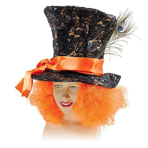 Bristol Novelty -Cappello e capelli da Cappellaio matto, multicolore, taglia unica, BH520