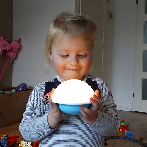 Flow Oplaadbaar Nachtlampje Nuke - One size - Mushroom Nuke - Roos
