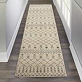 Marca de Amazon - Movian Struma, alfombra rectangular, 228,6 de largo x 66 cm de ancho (diseño geométrico)