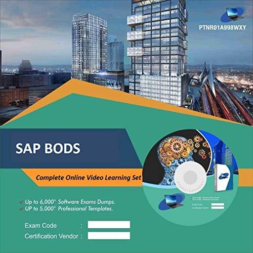 SAP BODS Complete Video Learning Solution Set (DVD)