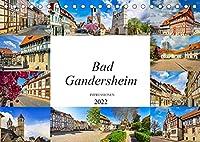 Bad Gandersheim Impressionen (Tischkalender 2022 DIN A5 quer): Die Kurstadt Bad Gandersheim festgehalten in zwoelf wunderschoenen Bildern (Monatskalender, 14 Seiten )