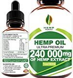 Best Overall – Hemp Oil Drops 240 000 mg Review