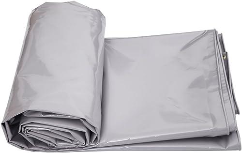 Bache HUO Tissu Imperméable De Hangar De, épaississez L'épaisseur Antipoussière De Linoléum D'ombre De Prougeection Solaire 0.6mm- 650g   M2 (Taille   4m6m)