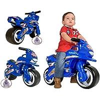 Injusa 195/000 - Moto correpasillos Tundra para bebés, Azul,  69 x 23,3 x 48 cm