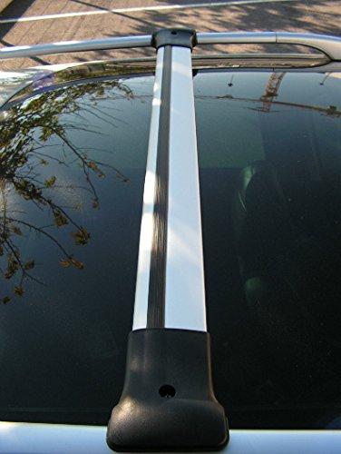 ALVM - Barras Cruzadas de Plata para portaequipajes Vivaro (2014+)
