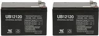 Universal Power Group 12Volt 12Ah Battery for Go-Go Mobility Elite Traveller SC40E,SC44E - 2 Pack