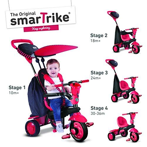 Smart Trike 675-1500 Spark Dreirad, rot