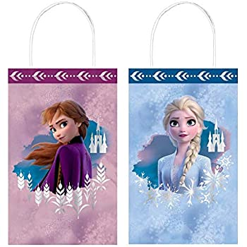 Disney Frozen Birthday Favour Toys and Prize Giveaway Multi Color 48 Piece 11 1//2 x 9 11 1//2 x 9 Amscan 394438