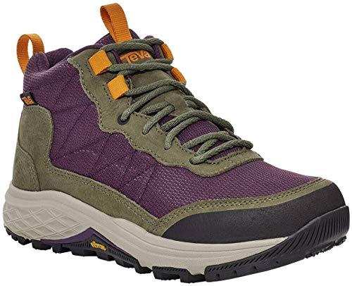 Teva Women's Ridgeview Mid Rp Hiking Boot, Olive Branch/Purple Pennant, 10.5
