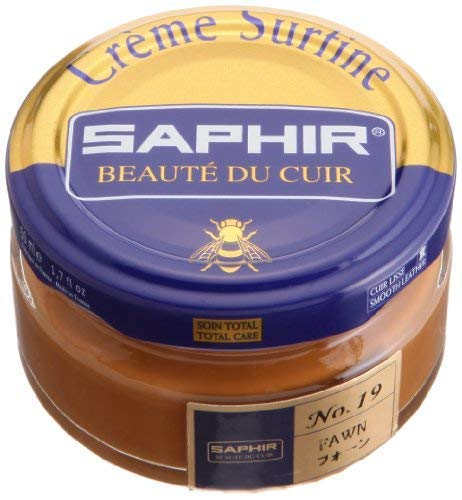 Saphir Creme Surfine Pommadier Shoe Polish 50ml - Fawn