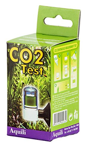 Aquili - Test en ampolla de plástico para medición continua del CO2en el acuario