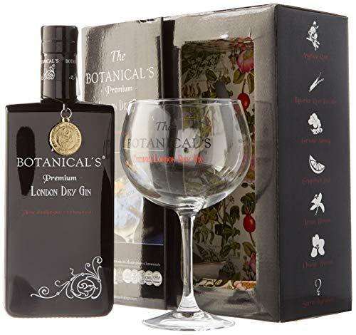 The Botanical's - Pack con Ginebra London Dry y Copa Balón, 700 ml ⭐