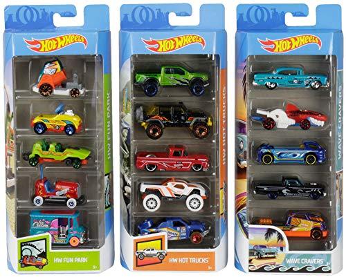 Hot Wheels Variety Cars 5-Pack