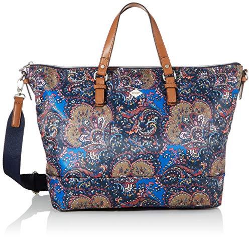 Oilily Damen Picnic Handbag Lhz Henkeltasche Blau (nightblue)