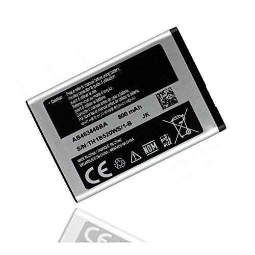 ORIGINAL Akku accu Batterie battery für Samsung SGH-B130, SGH-B300, SGH-B320, SGH-B520, SGH-C120, SGH-C130, SGH-C140, SGH-C260, SGH-C270, SGH-C300, SGH-C520, SGH-D520 - 800mAh - Li-Ionen - (AB463446BU)