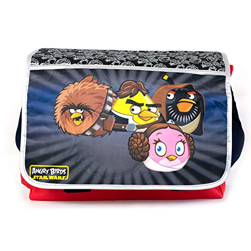 Accessory Innovations Children's Character Messenger Style Over The Shoulder Book & Laptop Bag, Angry Birds Star Wars