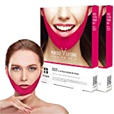 Avajar Shaped Slimming Face,Perfect V Lifting Premium Mask 10pcs - V Line Mask | Face Lifting Mask | Double Chin Reducer | Chin Strap For Double Chin Remover | V Shaped Slimming Face Mask | Double Chin Mask