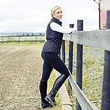 Horze Active Reithose Damen vollbesatzhose Silikon Grip,schwarz,38
