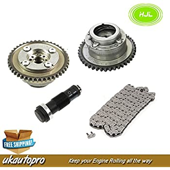 Camshaft Adjusters /& VVT Gear /& Timing Chain Kit for Mercedes C-Class W204 M271