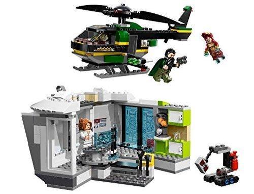 LEGO Iron Man: Malibu Mansion Attack 364pieza(s) Juego de construcción - Juegos de construcción (Negro, Verde, Gris, Rojo, Color Blanco, 6 año(s), 364 Pieza(s), 12 año(s))