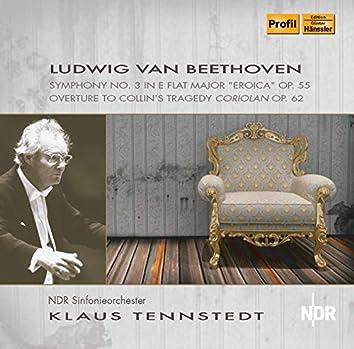 "Beethoven: Symphony No. 3 in E-Flat Major, Op. 55 ""Eroica"" & Coriolan Overture, Op. 62"
