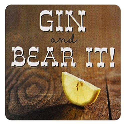 Gin en draag het! - Hoge kwaliteit Square Fun Koelkast Magneet