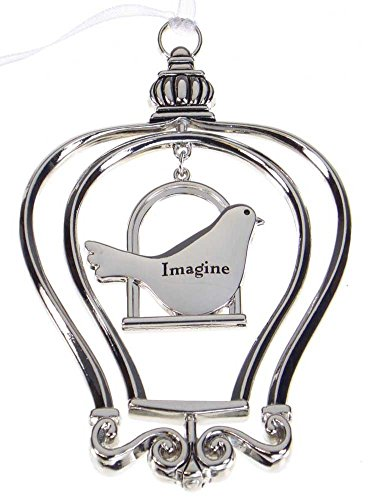 """""""3D"""" Birdcage Ornament - Imagine"""